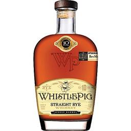 WhistlePig 10 Year Straigh Rye Whiskey