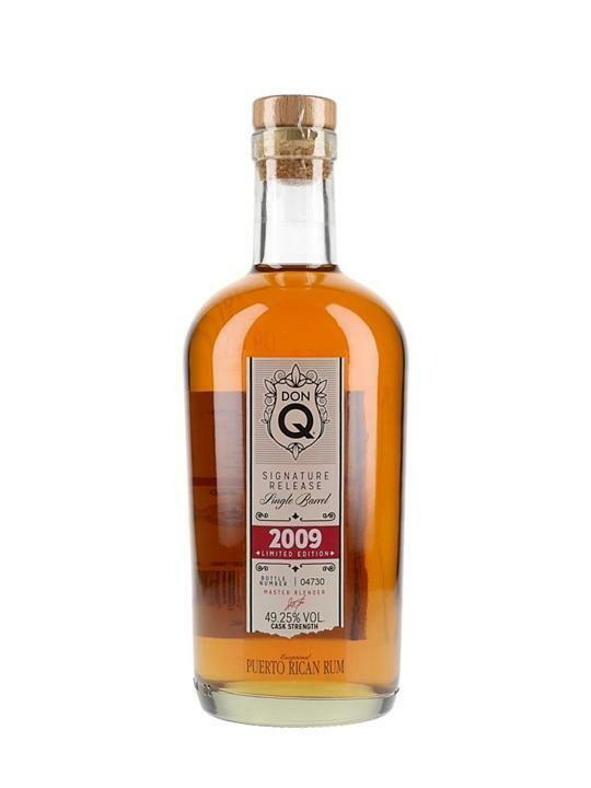 Don Q Signature Release Single Barrel 2009 Rum