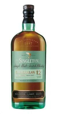 Singleton Glendullan 12 Year Whiskey