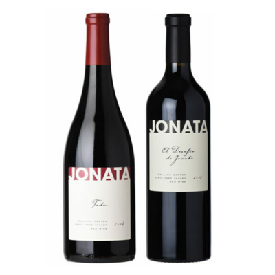 Jonata Santa Barbara Duo: Red Blend & Cabernet Sauvignon