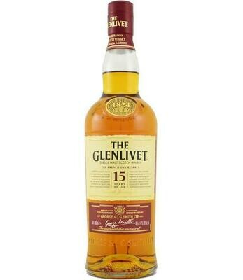 Glenlivet 15 Year Whiskey