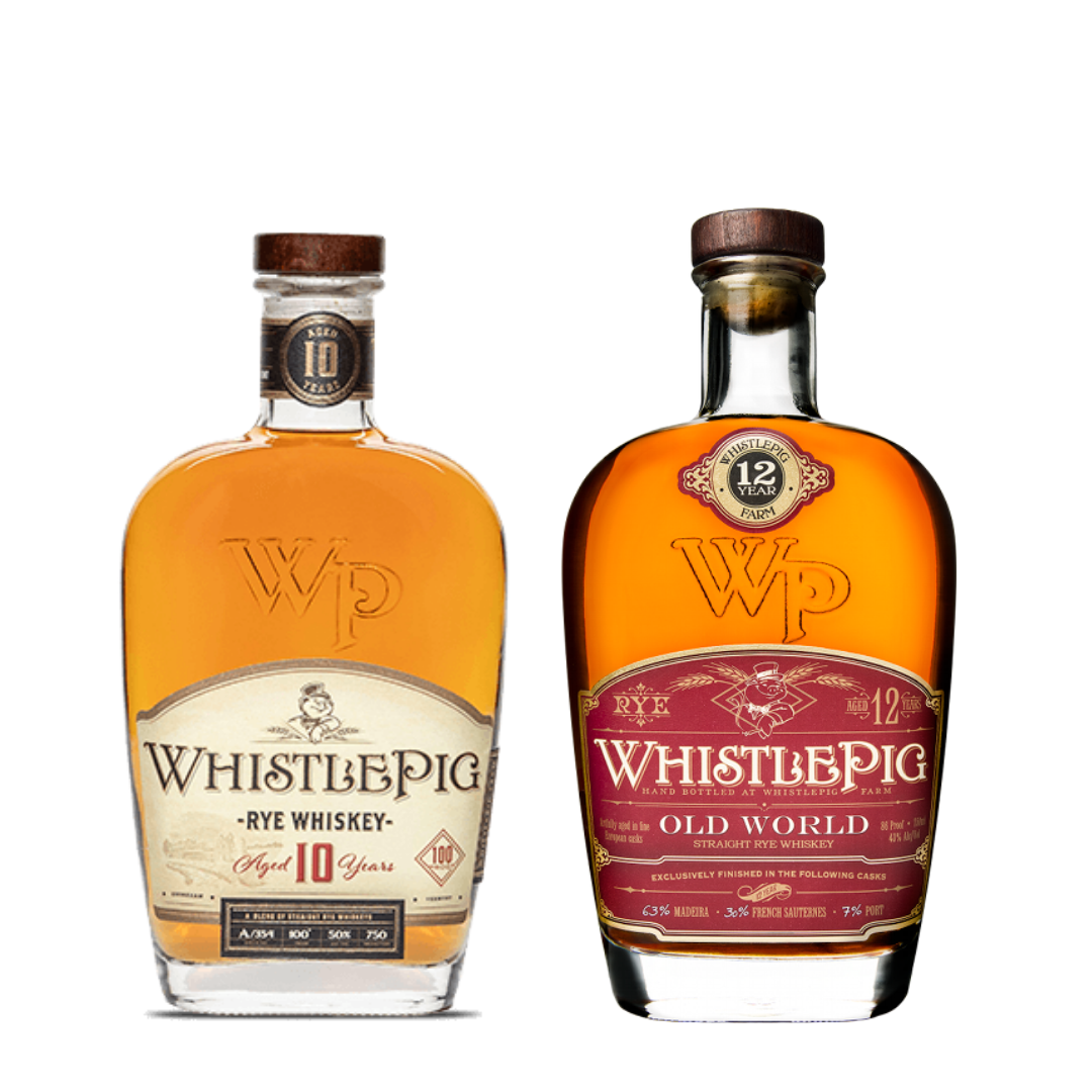 WhistlePig Collection 10 Year & 12 Year
