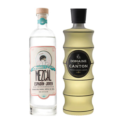 Mezcal and Ginger Liqueur : Top-Shelf Selections