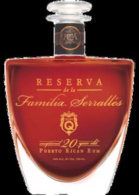 Don Q Reserva De La Familia Serralles (case not included)