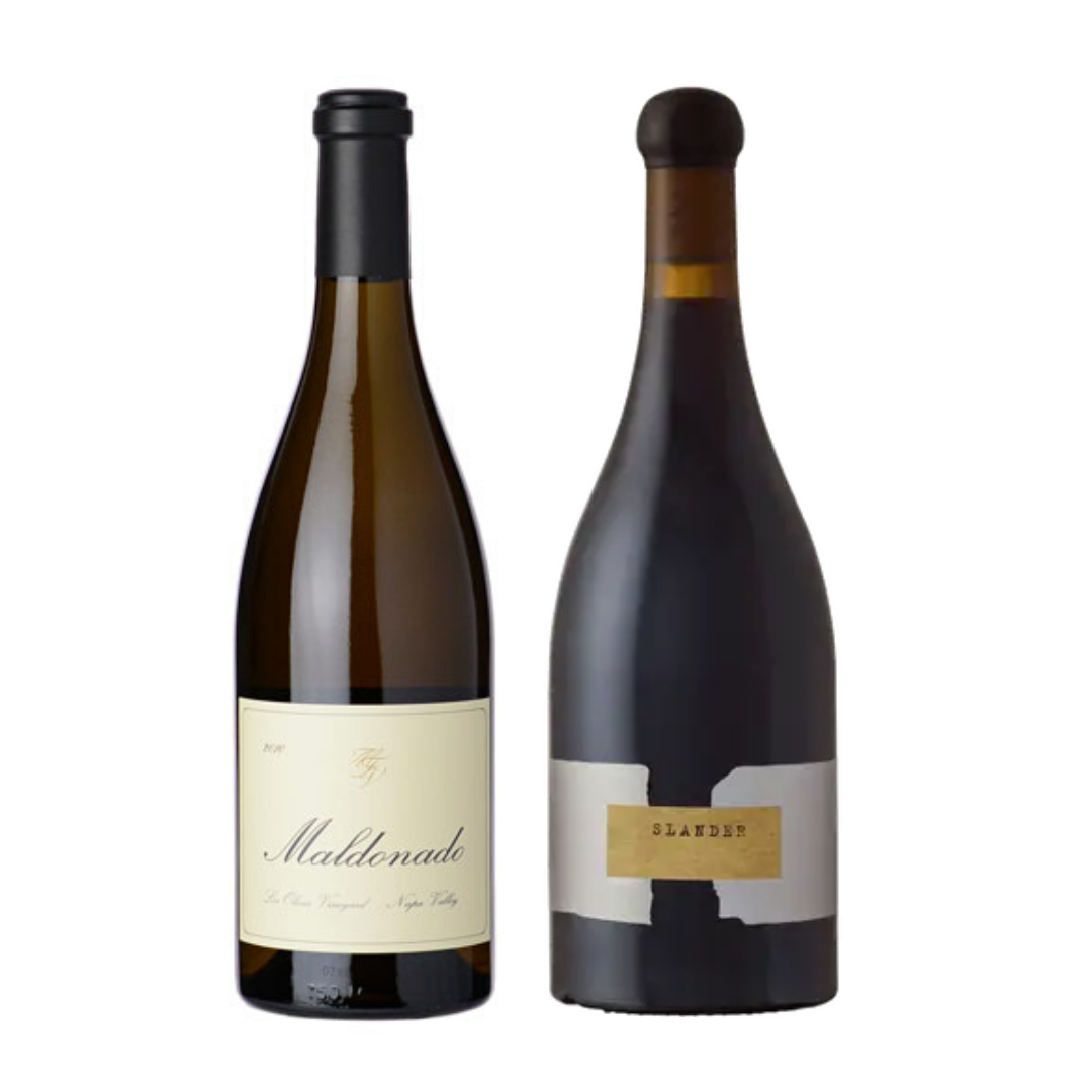 Napa Valley Chardonnay + Orin Swift Slander Pinot Noir
