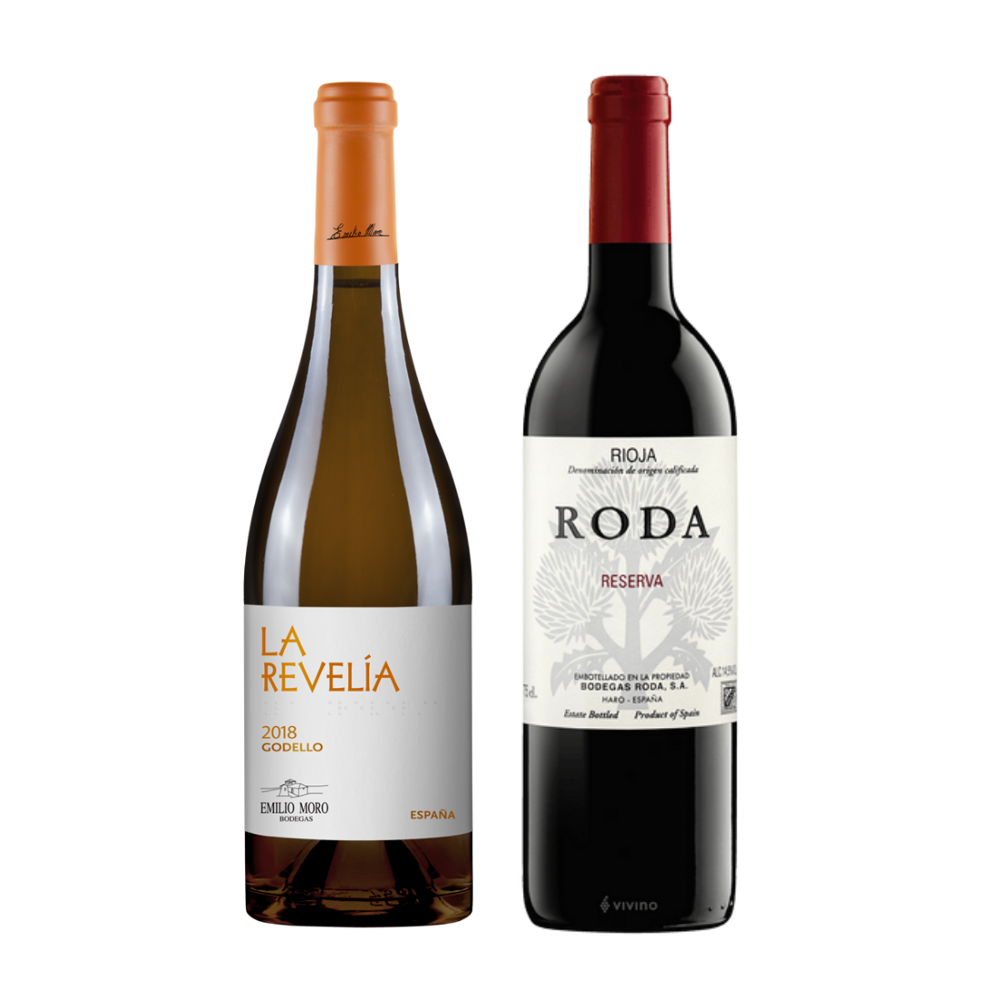 Spain Godello & Rioja
