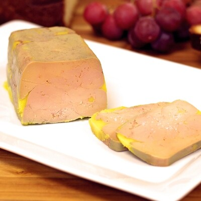Terrine of Foie Gras Block, housemade jam