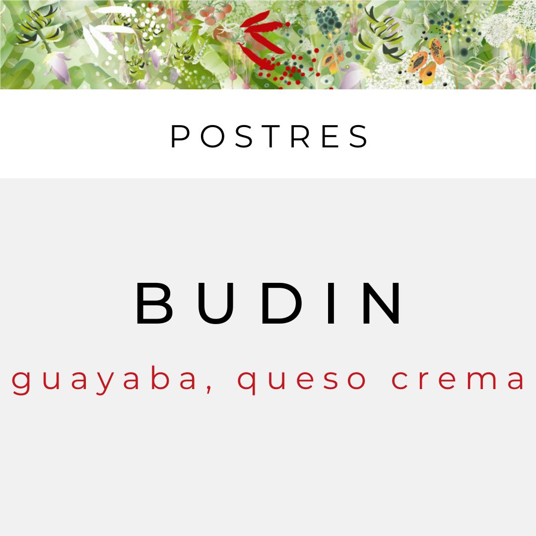 Budin de Guayaba (sirve 2)