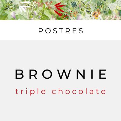 Brownies (sirve 2)