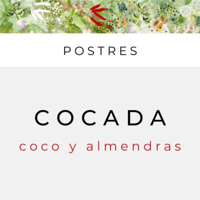 Cocada (sirve 2)