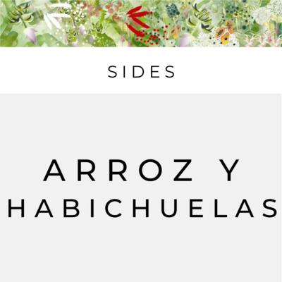 Side Arroz y Habichuelas Blancas