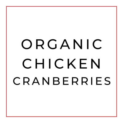 Ensalada de Pollo y Cranberries