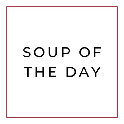 Sopa del Dia (sirve 2)