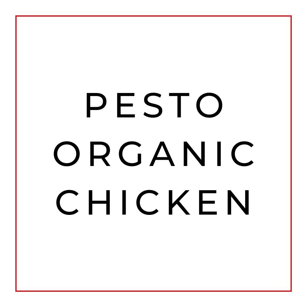 Pollo al Pesto de Cilantrillo y Almendras