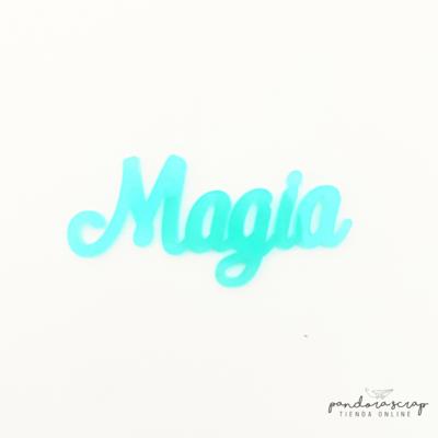 Palabra de Metacrilato - Magia