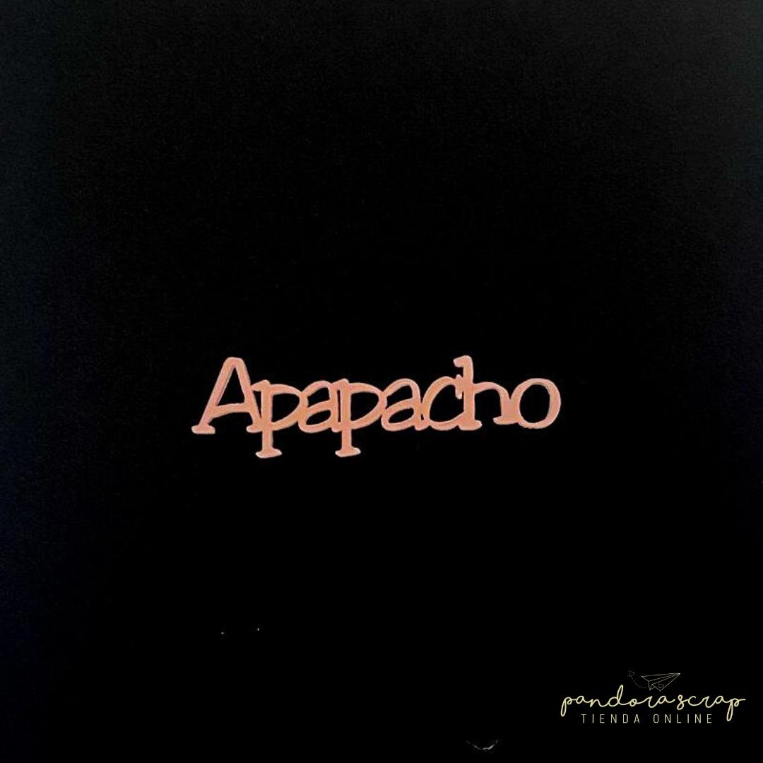 Palabra de Metacrilato - Apapacho