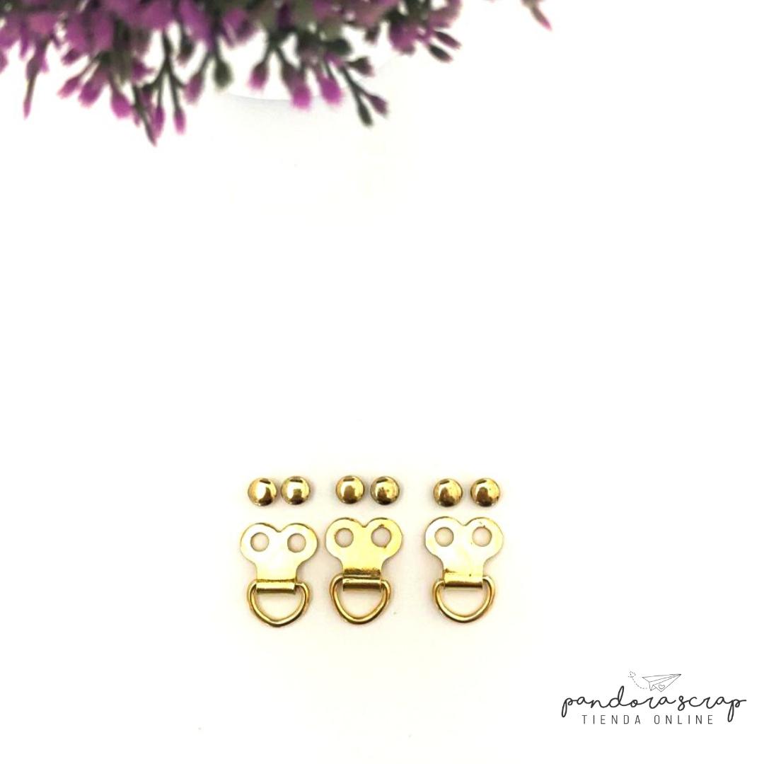 Accesorio Mariposa - Oro