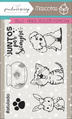 Set de Sellos - Mascotas