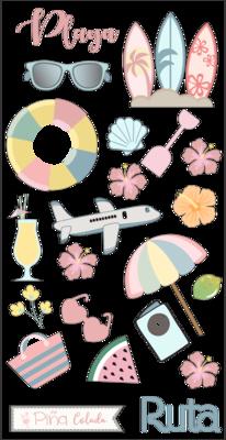 Stickers - Paraíso Tropical