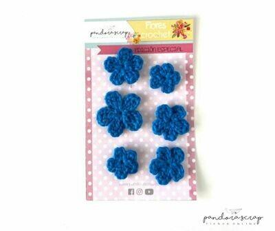 Flores crochet Eléctrico