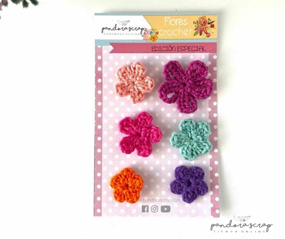 Flores de Crochet - Verano