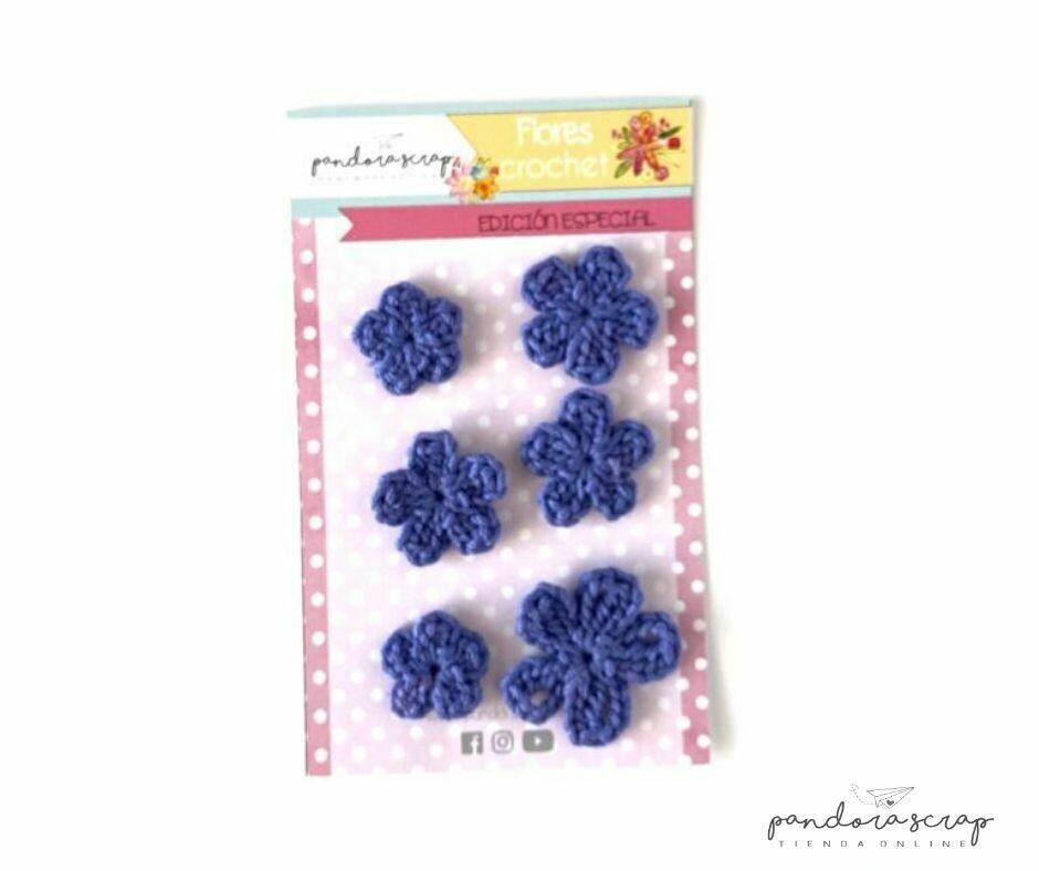 Flores de Crochet - Uva