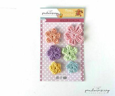 Flores de Crochet - Algodón