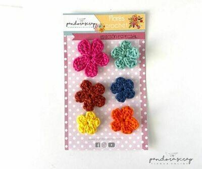 Flores de Crochet - Tribal