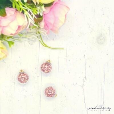 Esfera de cristal - Oro Rosa