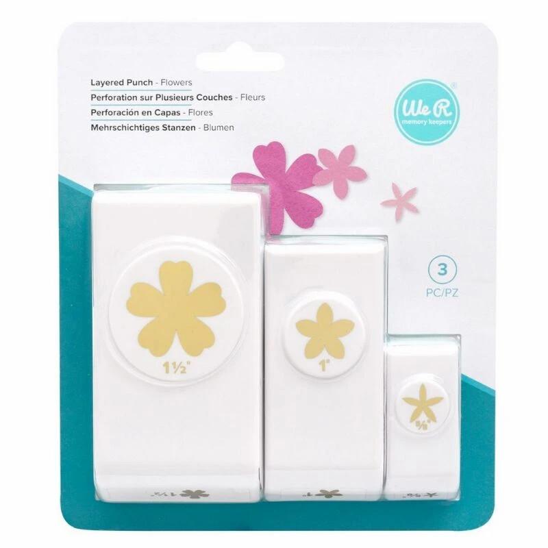 Set de Ponchadoras - Flowers