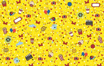 Tela de Lienzo - Amarilla fantasía