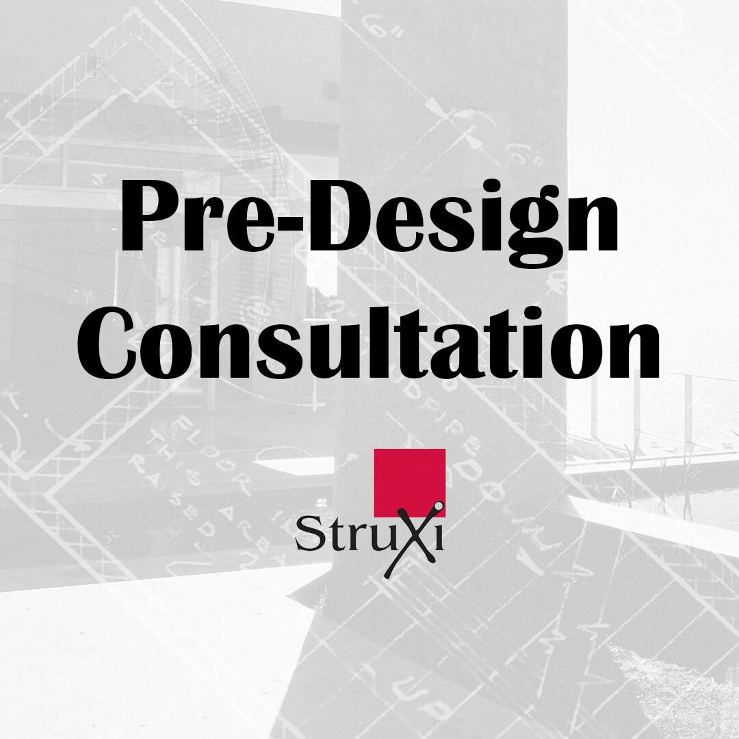 Pre-Design Consultation