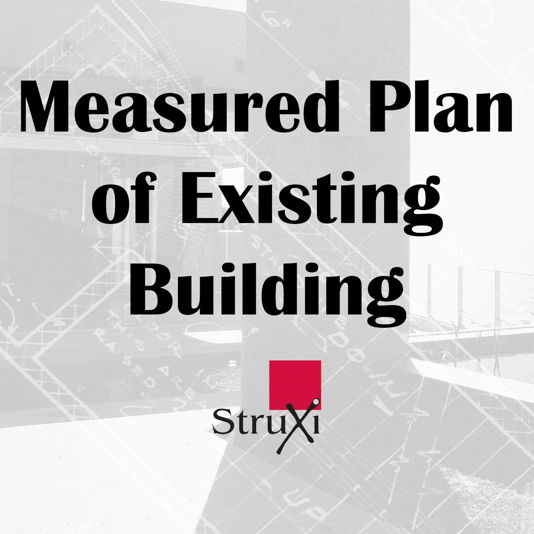 Measured Plan of Existing Building
