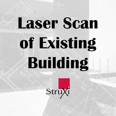 Laser Scan of Existing Building