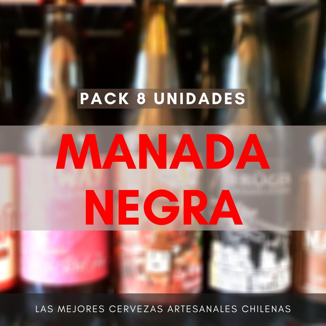 Pack MANADA NEGRA (8 uds)