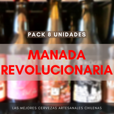 Pack MANADA REVOLUCIONARIA (8 uds)