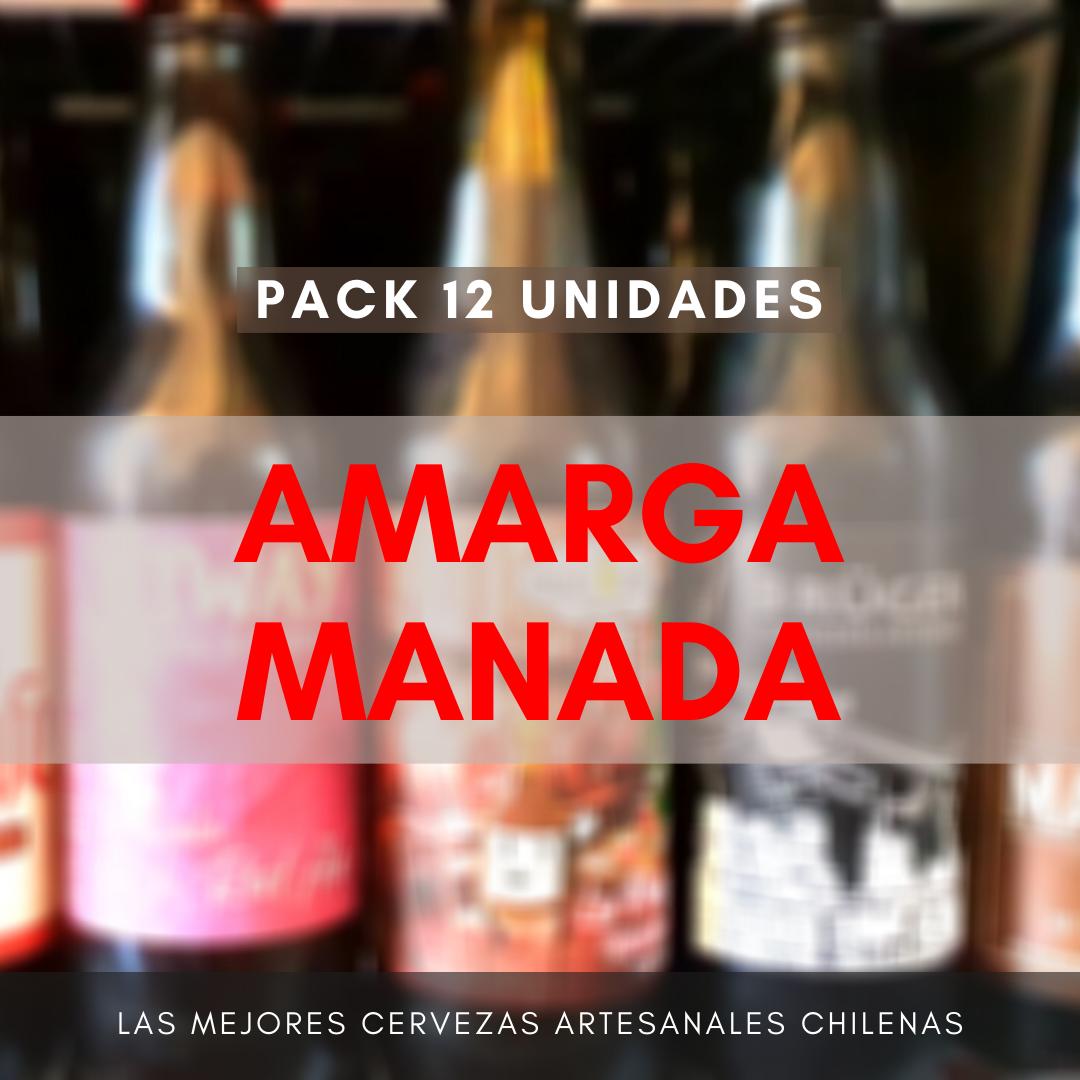 Pack AMARGA MANADA (12 uds)