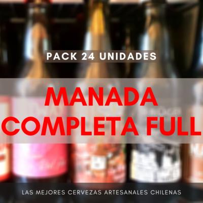 Pack MANADA COMPLETA FULL (24 uds)