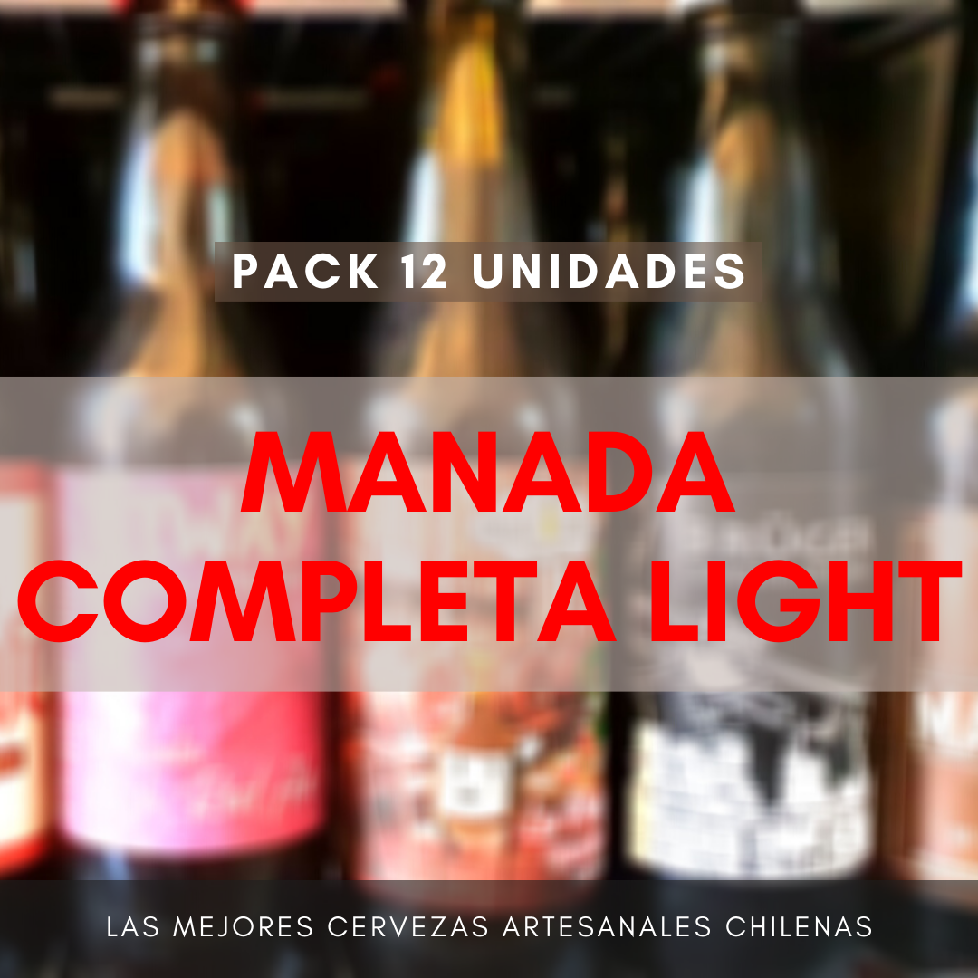 Pack MANADA COMPLETA LIGHT (12 uds)