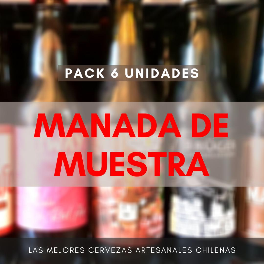 Pack MANADA DE MUESTRA (6 uds)