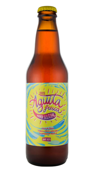 MOSSTO - Agüita Fresca (Hard Seltzer)