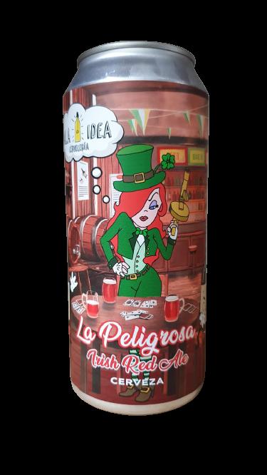 MALA IDEA - La Peligrosa (473 ml) (Irish Red Ale)