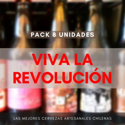 Pack VIVA LA REVOLUCIÓN (8 uds)