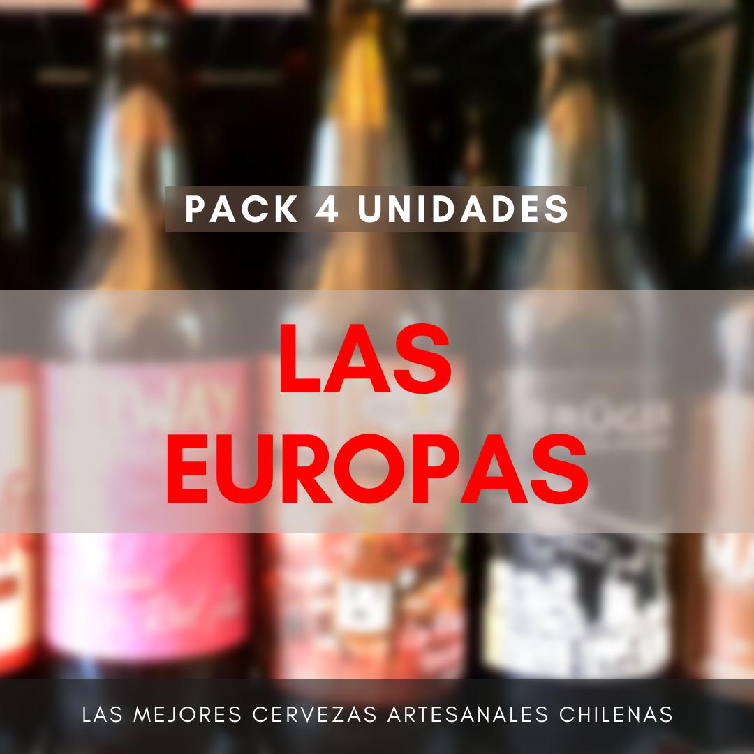Pack LAS EUROPAS (4 uds)