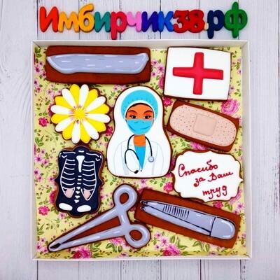 Имбирные пряники День медика