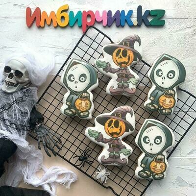 Имбирный пряник Хэллоуин