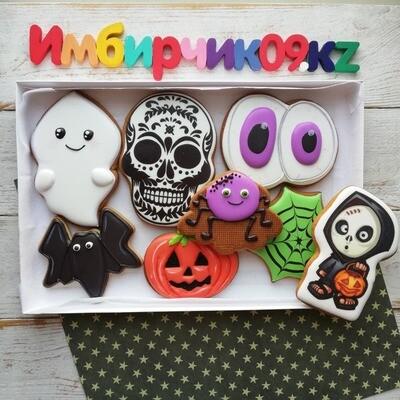 Имбирные пряники Хэллоуин