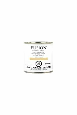 Fusion Stain and Finishing Oil Natural