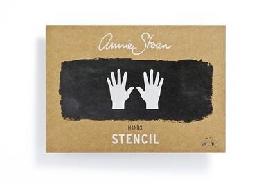 Hands Stencil