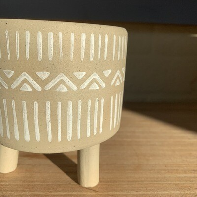 Aztec Pattern Planter